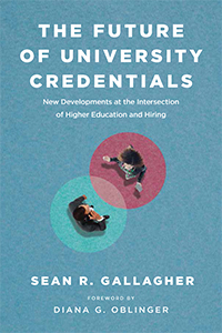 book cover: The Future of University Credentials