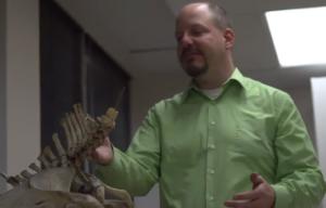 "John Hawks teaches ""Human Evolution."""