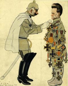 cartoon of LaFollette