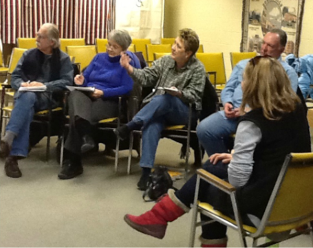 By meeting for discussion sessions at public libraries, neighbors concerned about climate change could get to know one another and begin planning community-specific responses.