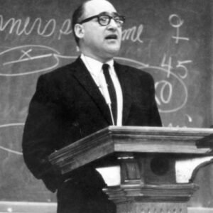 George Mosse was devoted to critical thinking as a means of resisting oppression.