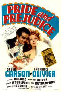 movie jacket cover for Pride and Prejudice