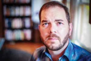 J. Ryan Stradal says the Writers' Institute is 'a wonderful opportunity for writers and people who care about writing to be in the same space, and have it be an encouraging, inspiring, nonjudgmental space.'
