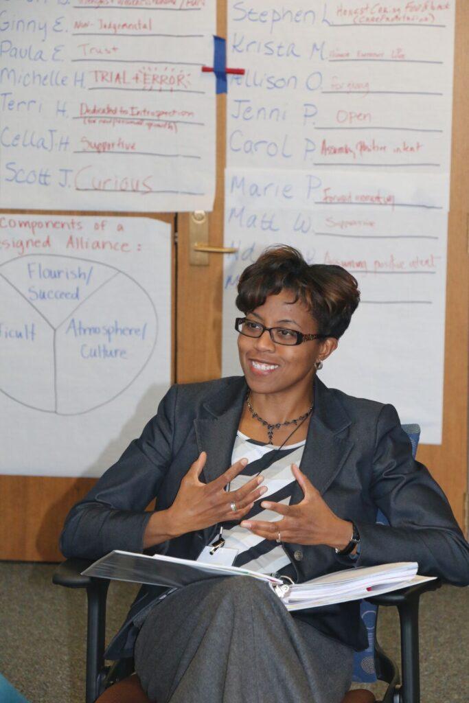 Yaucher Ndidi in class